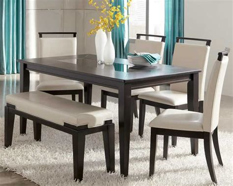 dining room table and bench set dining table set with bench write