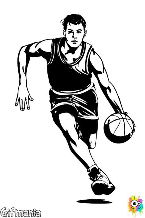Drawing 2 Player by Basketball Player Basketball Basketballer Sport