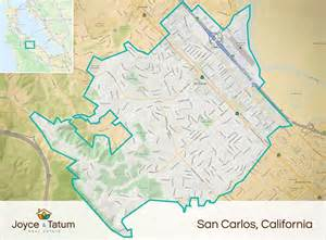 san carlos california map real estate san francisco neighborhood map free home