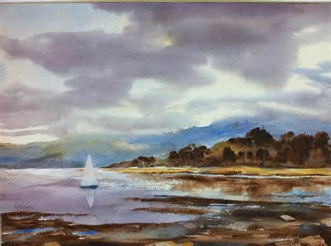still before the storm painting by ron ranson