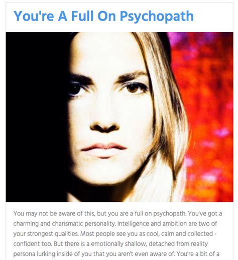 quiz is your a psychopath quiz are you a psychopath page 8 neogaf