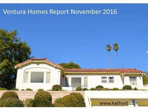 housing market 2016 ventura housing market november 2016 venturacountyrealestatecenter com