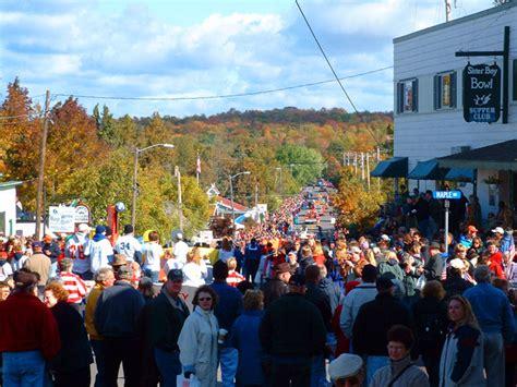 Door County Fall Festival by Bay Location Birchwood Lodge Resort Door County