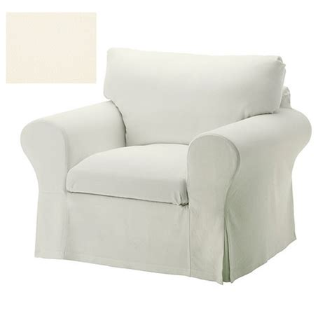 ektorp armchair slipcover chair cover stenasa white