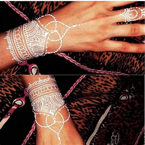 henna tattoo cones white henna paste cone temporary