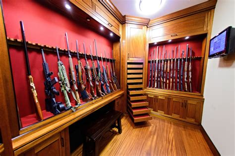 Gun Rooms & Cabinetry ? Julian & Sons   Fine Woodworking
