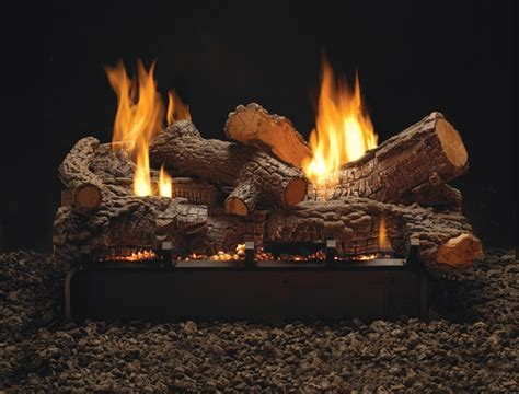 Ventless Fireplace Gas Logs by Empire 18 Quot Multi Sided Rock Creek Refractory Ventless