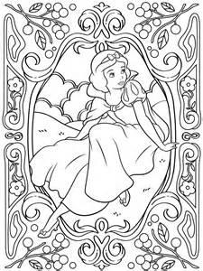 Coloringbook SNOWWHITE 2000 sketch template
