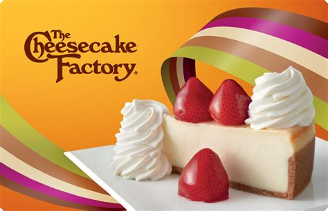 Cheesecake Factory Gift Card Discount - the cheesecake factory gift cards i loyalty rewards i incentives