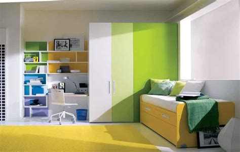 Yellow Green Bedroom Design Cool Yellow Green Bedroom Interior Design