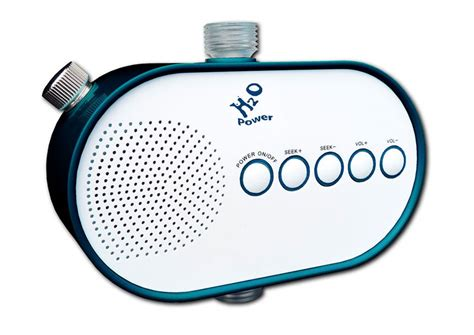 Best Bathroom Radio Uk The Amazing Water Powered Shower Radio From H2o Real Gifts