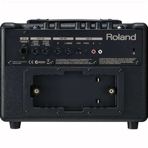 Amflifier Stereo Acoustic Ac 137 roland ac 33 acoustic chorus guitar lifier