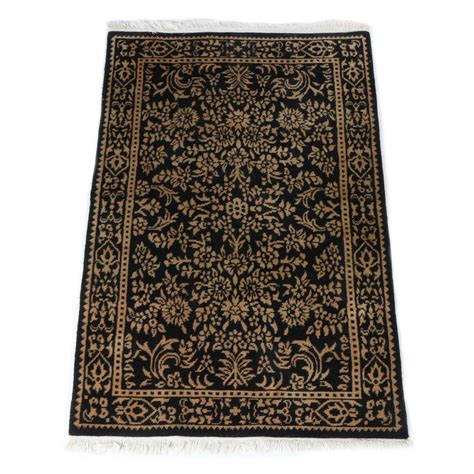 knotted wool rugs from india knotted gregorian indian area rug ebth