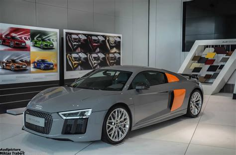 nardo grey r8 two tone nardo grey audi r8 v10 plus looking sleek