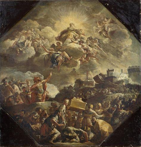 transport   ark   covenant pinacoteca  brera