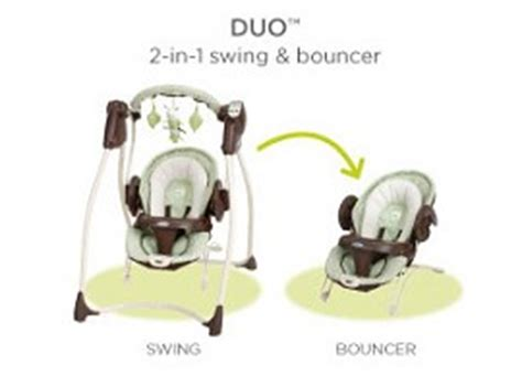 two in one swing and bouncer duo 2 in 1 swing bouncer