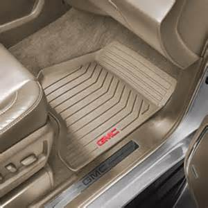 Floor Mats Gmc 2015 Yukon Denali Floor Mats Front Set All Weather Dune