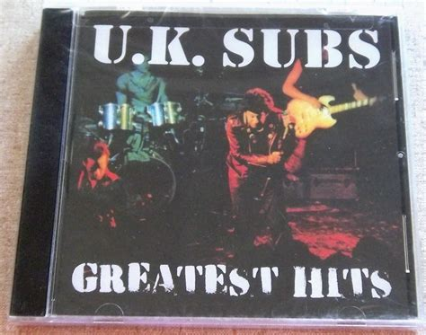 The Greatest American Subtitles Uk Subs Greatest Hits Us Release Cat Gamc 052 Subterania