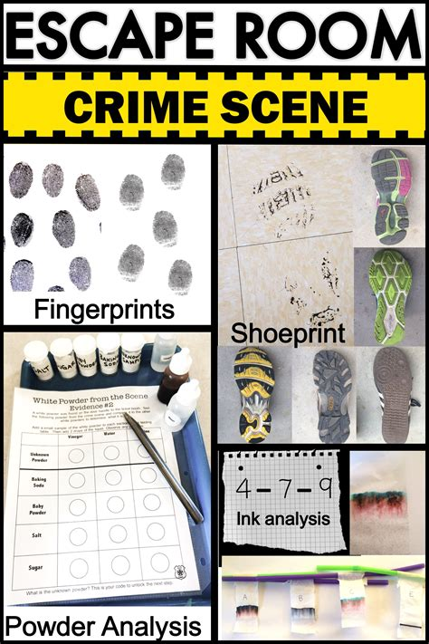 Escape Room Csi Forensics Forensics Middle And Students Escape Room Waiver Template