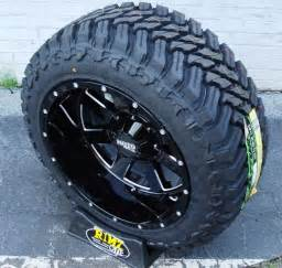 Trail Mt Tires 20x12 Moto Metal 962 Wheels Black Milled Finish W