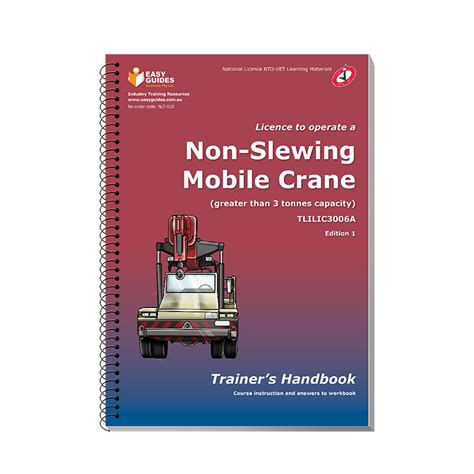 the non humorist s handbook how to easily add humor to your speeches books non slewing mobile crane trainer s handbook