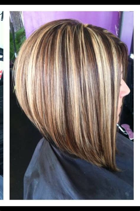 the swing short hairstyle short n the back and long in te frlnt at a angle a line bob not stacked love this stacked bob hairstyle