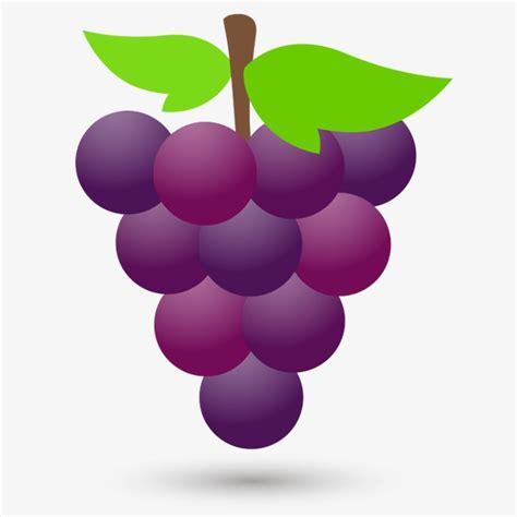 uva clipart uva dibujos de uvas frutas uvas moradas imagen png para