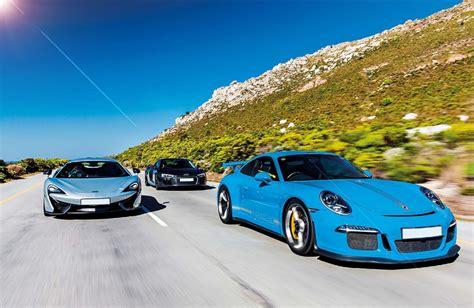 Audi R8 Vs Porsche Gt3 by 2016 Audi R8 V10 Plus Vs Porsche 911 Gt3 991 And Mclaren