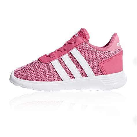 adidas lite racer toddler running shoes pink white sportitude
