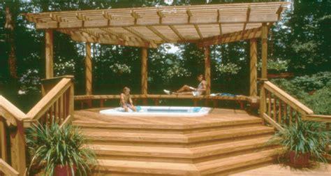 diy hot tub pergola plans wooden pdf simple sitting bench