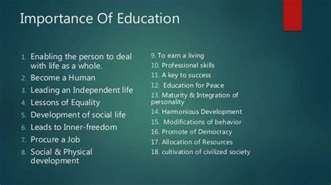 An Essay On The Importance Of Education by Essay On The Importance Of Education In Bminsuranceagency