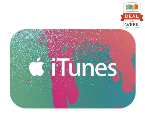 Itunes Gift Cards 20 Off - deal of the week 20 off itunes gift cards thegoodstuff