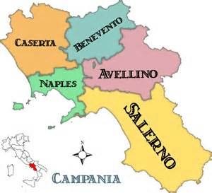 Provinces Of Italy Map by Campania Maps And Travel Guide Wandering Italy
