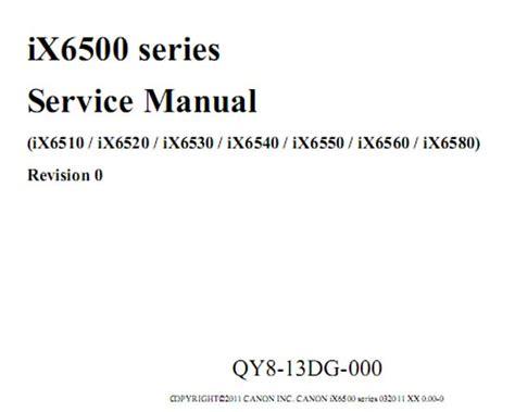 reset manual ix6560 canon ix6500 series including ix6510 ix6520 ix6530
