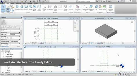 revit tutorial creating families revit family editor tutorial controlling rotation lynda