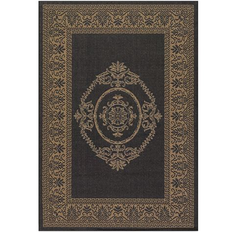 Indoor Outdoor Patio Rugs Antique Medallion Indoor Outdoor Area Rugs