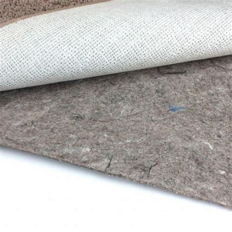 carpet pad for area rug duo lock felt and rubber non slip area rug pad
