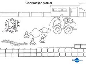 free coloring pages construction