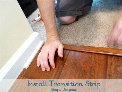 How To Install Laminate Flooring by Best 25 Carpet To Tile Transition Ideas On
