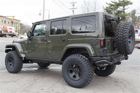green jeep 2015 forest green jeep wrangler rubicon 2015 car