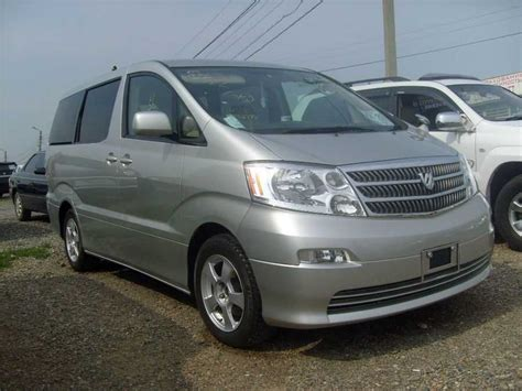 Toyota Alpart 2005 Toyota Alphard Photos 2 4 Gasoline Automatic For Sale