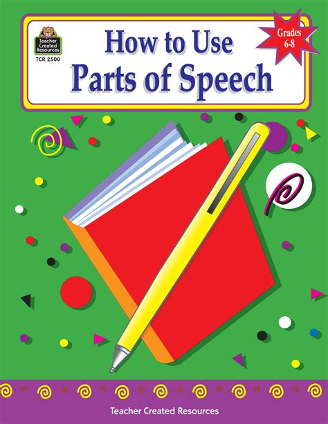 Useful Spares To by How To Use Parts Of Speech Grades 6 8 Tcr2500