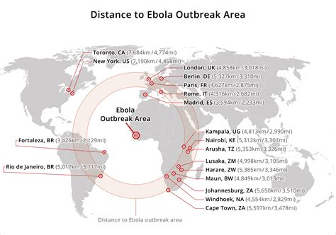 breakout map list of safari companies with ebola related cancellation
