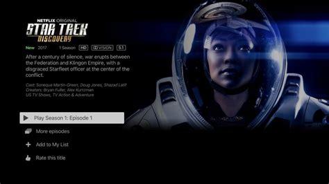 nedlasting filmer star trek discovery gratis apple tv 4k ljud bild