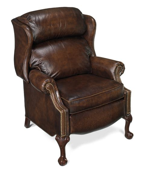 bradington young leather recliner bradington young leather ball claw recliner 4115