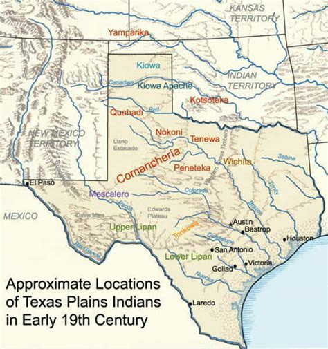 texas map 1800 maps