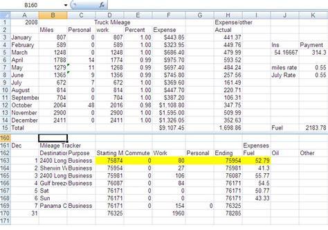 irs mileage log template rental bookkeeping spreadsheet realtor