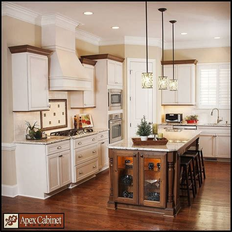 apex cabinet company apex nc beautiful 2 tone kitchen with omega and dynasty cabinetry
