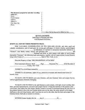 free printable quit claim deed for new york quit claim deed new york fill online printable