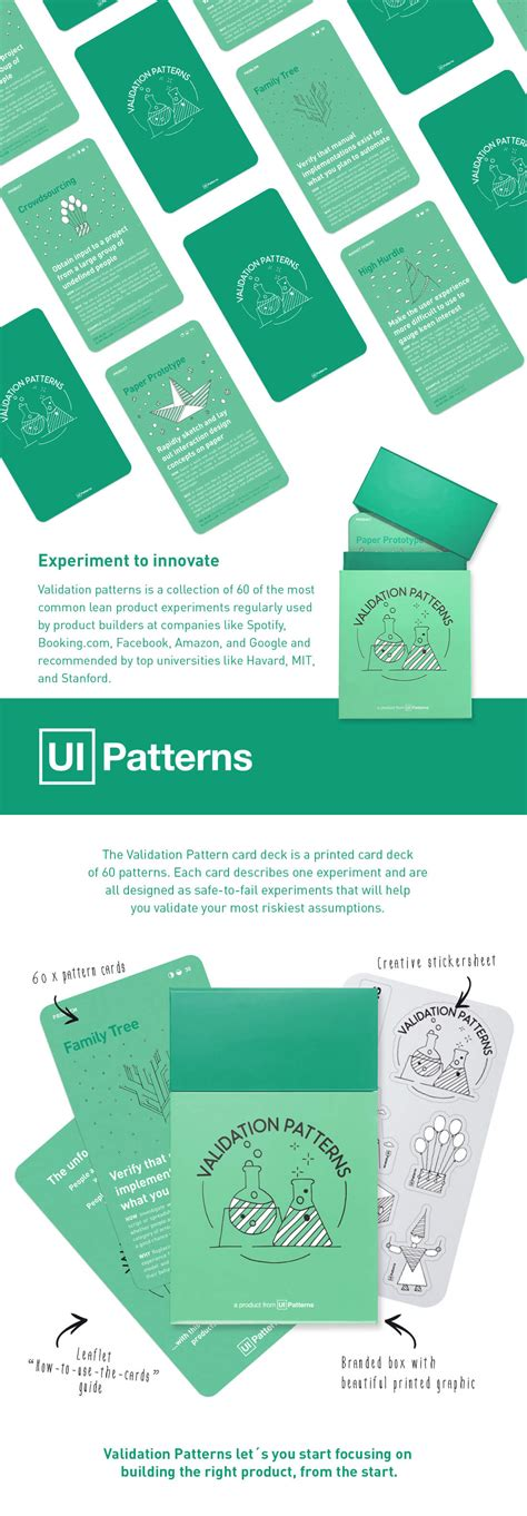 validation pattern number only validation patterns card deck lets you learn from